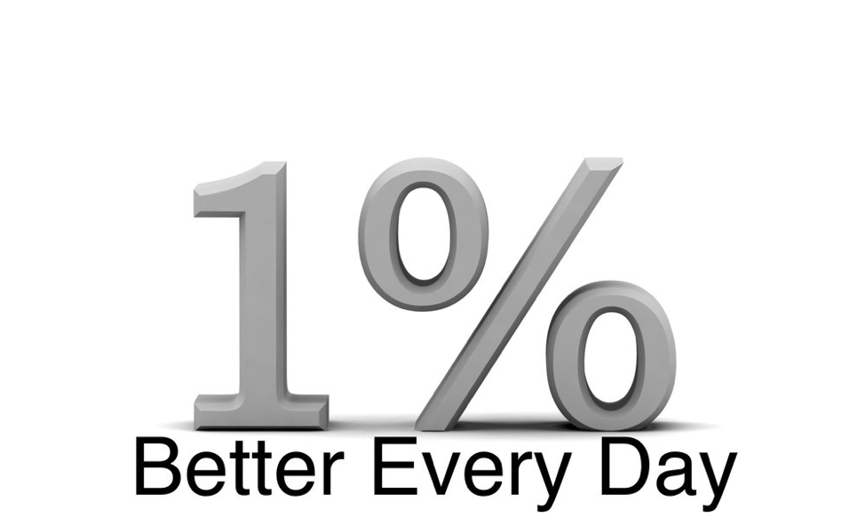 What if you got 1% better every day?